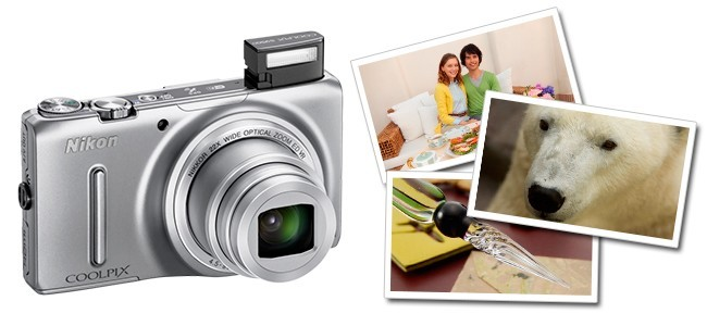 Ideas de regalo para San Valentín: Nikon COOLPIX S9500 Plateada