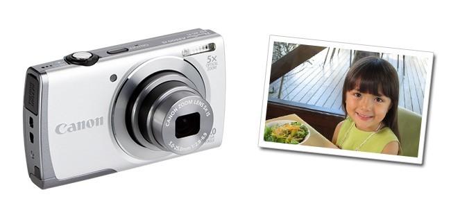 Ideas de regalo para San Valentín: Canon PowerShot A3500 IS Plateada