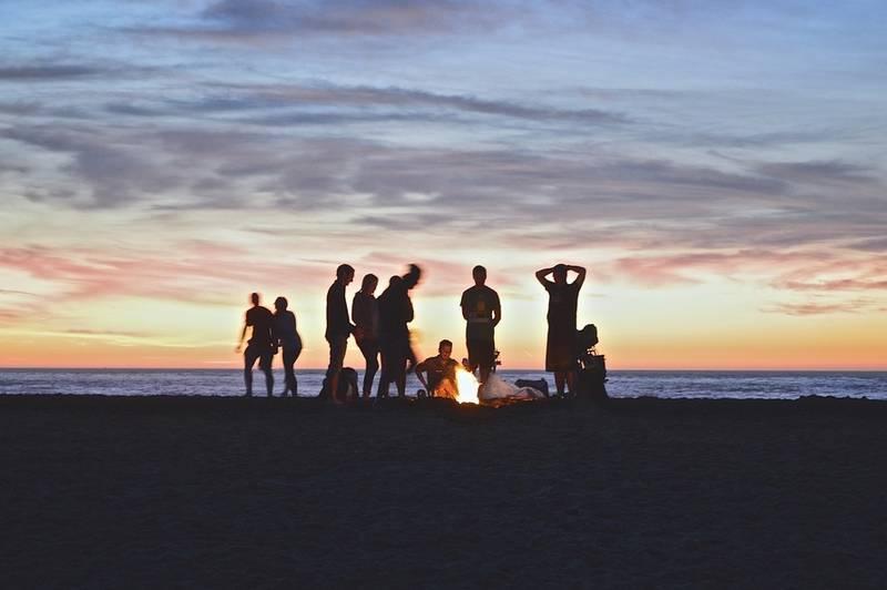 impresionantes fotografías en la playa