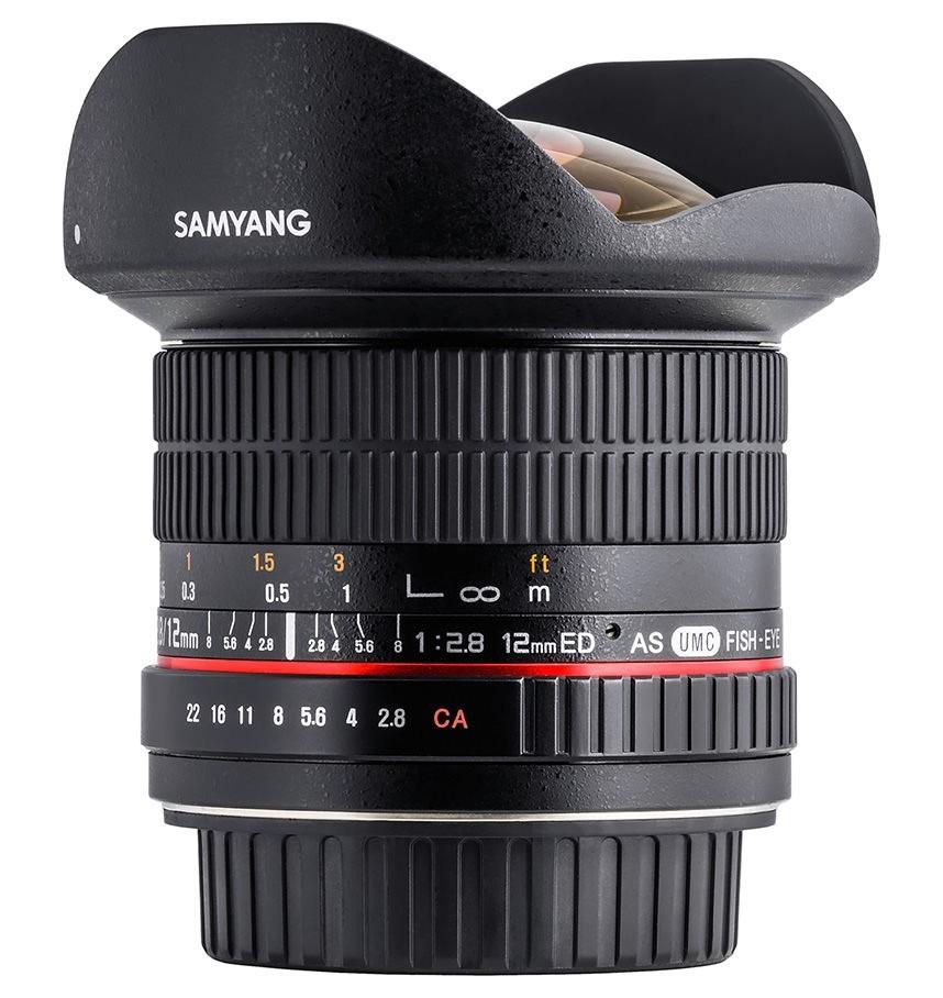 Nuevo Samyang 12mm f/2.8, también en Photokina 2014