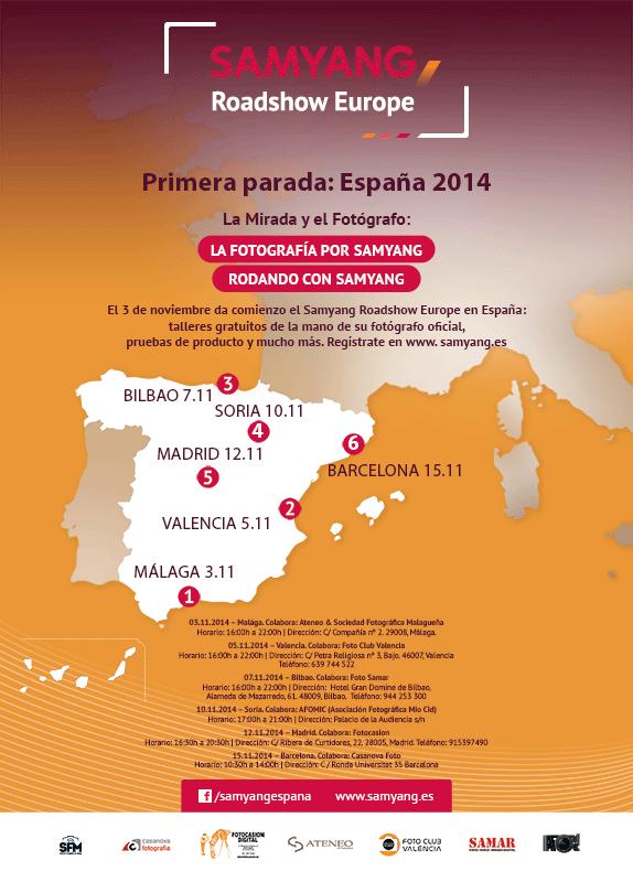 Samyang Roadshow Europe empieza en España