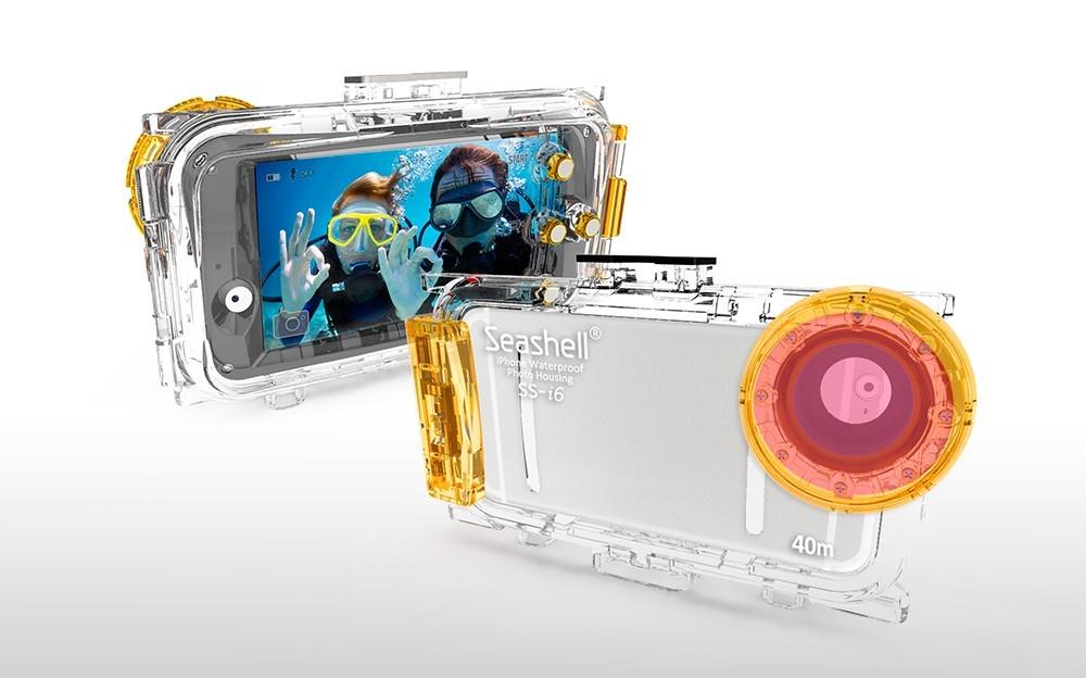 Seashell SS-i6, la nueva carcasa submarina para iPhone 6