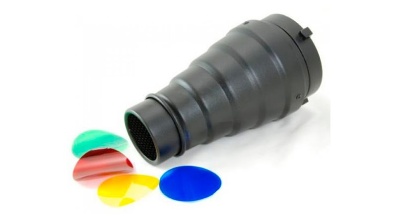 éclairage, modificateurs de lumière, snoot