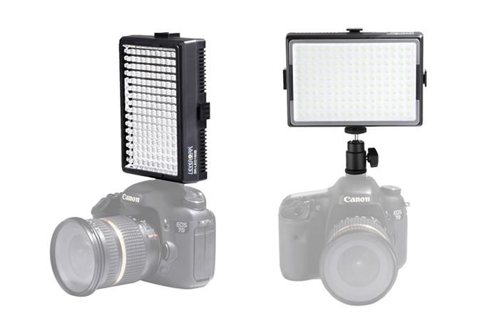 Accesorios para grabar vídeos con DSLR: antorcha LED Sevenoak