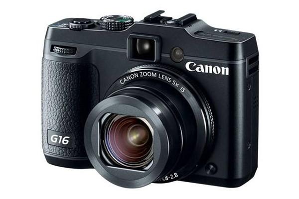 Cámara compacta Canon G16