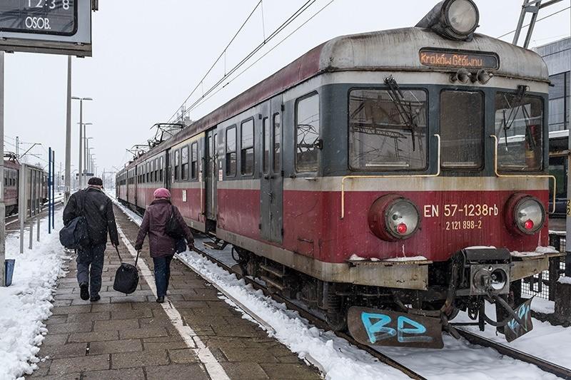 Tren Cracovia-Oswiecim. © José Luis Valdivia.