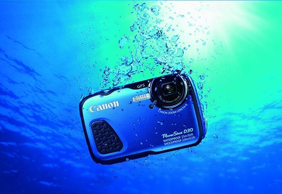 Canon PowerShot D30, sumergible hasta 25 metros