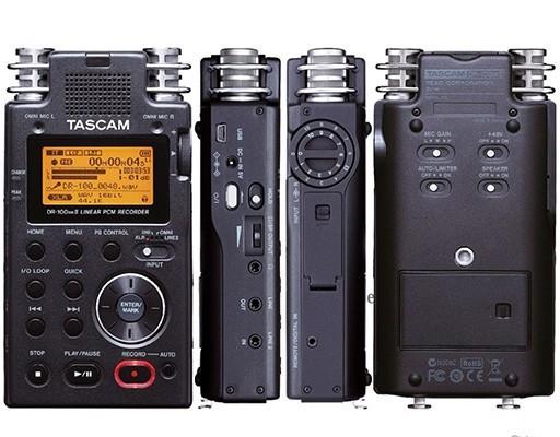 Accesorios para grabar vídeos con DSLR: grabadora de audio Taskam DR-100