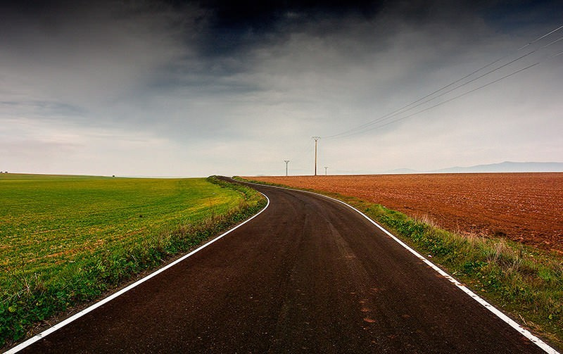 Dónde colocar el horizonte: centrar el horizonte