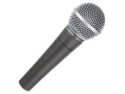 Accesorios para grabar vídeos: Micrófono dinámico Shure SM58