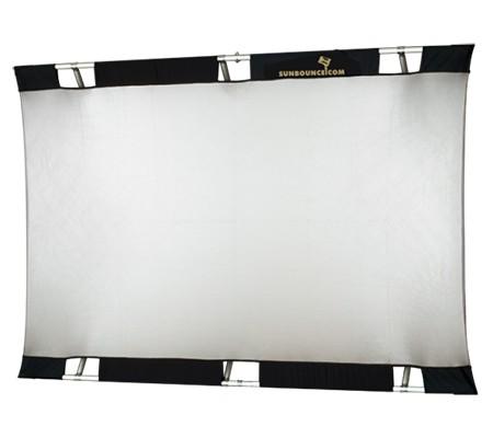 Accesorios para grabar vídeos con DSLR: reflector Sunbounce