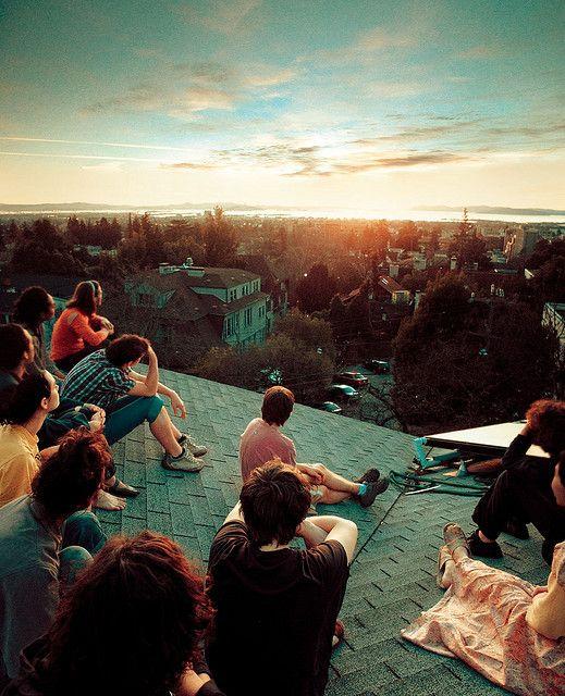 Photos de voyage : un coucher du soleil différent