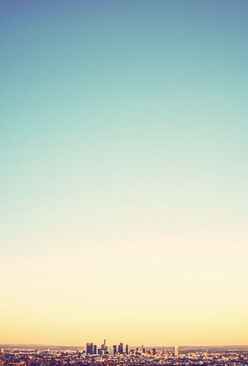 Ideas de fotos de viajes: jugar con el horizonte colocándolo en un extremo de la fotografía