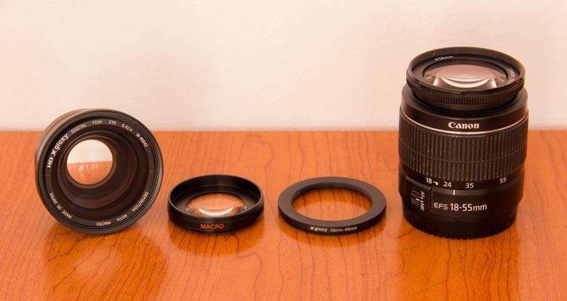 Gloxy Ojo de Pez 0.42x, una lente con grandes posibilidades