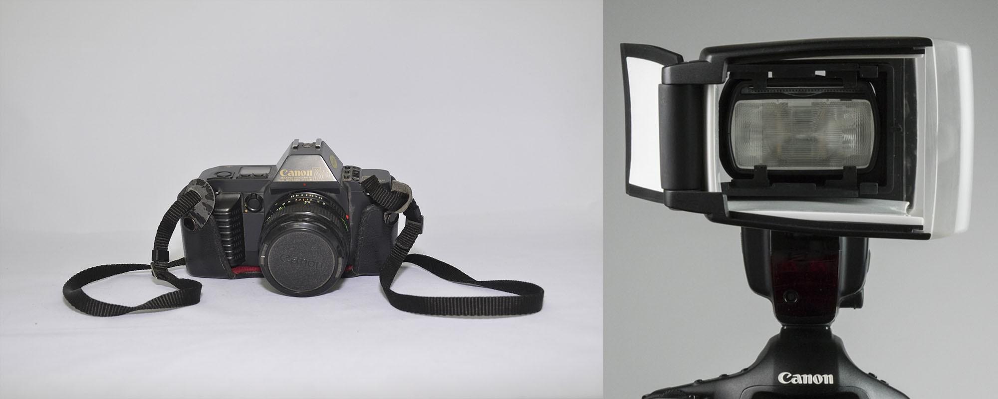 Foto de producto con flash directo