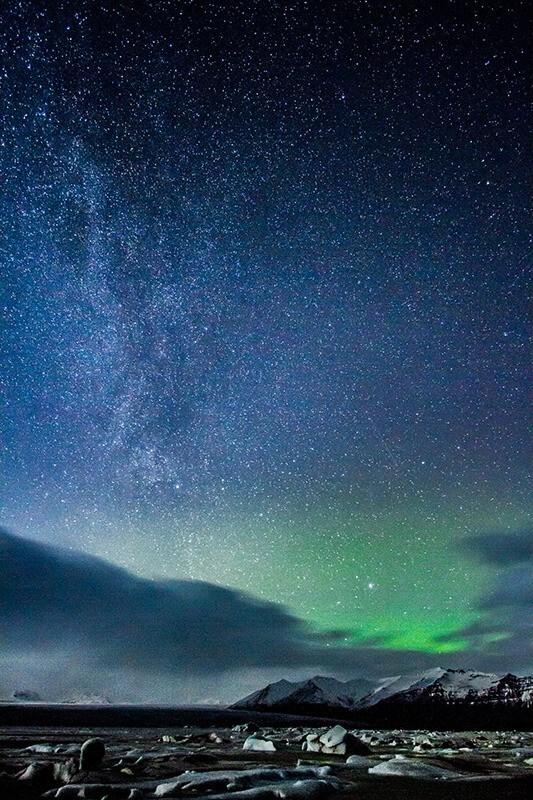 Stars over Iceland, de Claudia Regina