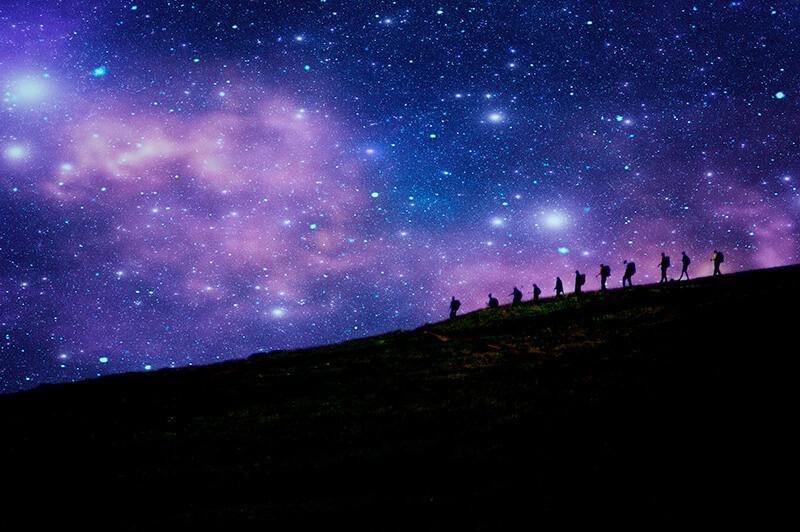 30 increíbles fotos de estrellas en el cielo para inspirarte: Star walekr, de Paul Kline