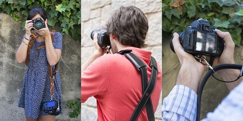 Las correas bymerro son ideales para el fotógrafo callejero