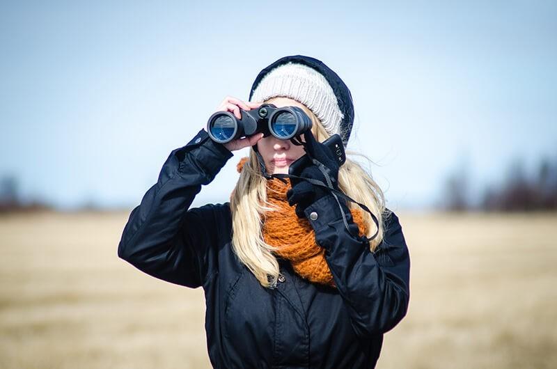 Cómo elegir unos prismáticos: sistema de enfoque central