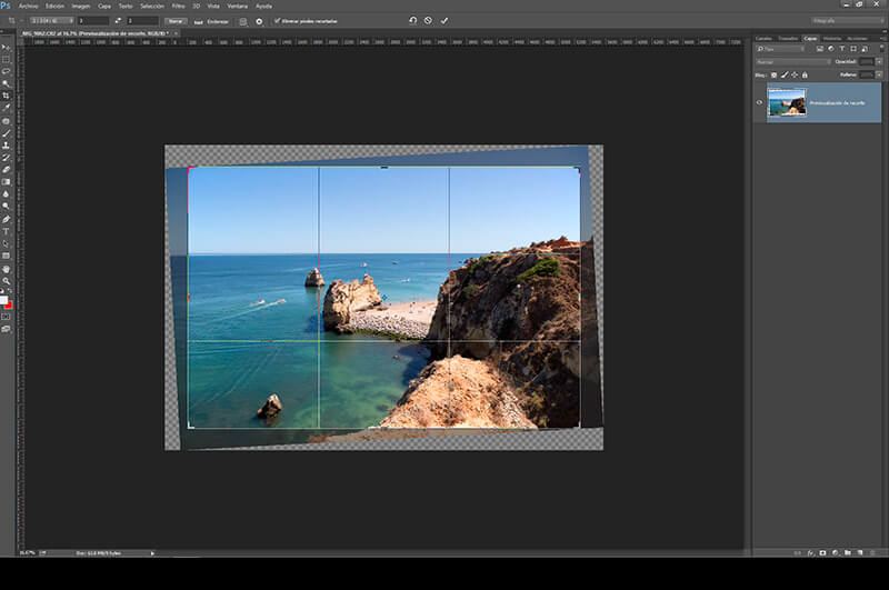 8 retoques con Photoshop para mejorar tus fotos veraniegas: reencuadre, recorte y aderezado
