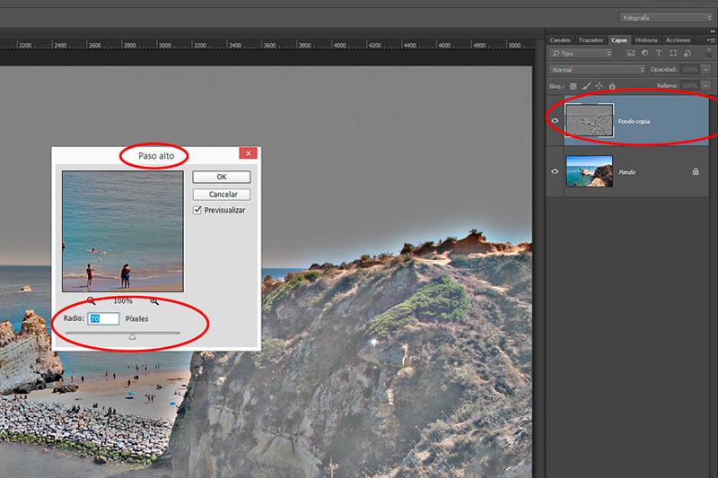 8 retoques con Photoshop para mejorar tus fotos veraniegas: enfoque selectivo