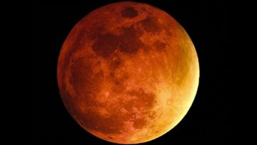 Cómo fotografiar la superluna roja durante el eclipse total