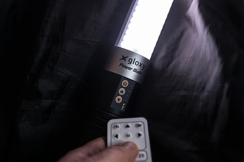 Gloxy Power Blade con mando inalámbrico