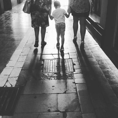 Andando por la calle