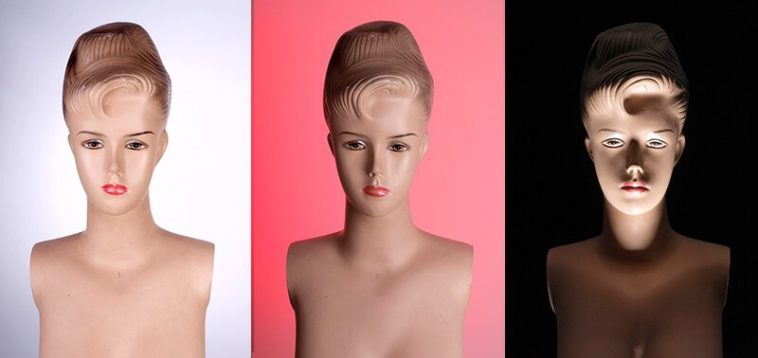 Esquema de iluminación avanzado y 4 opciones para retratos