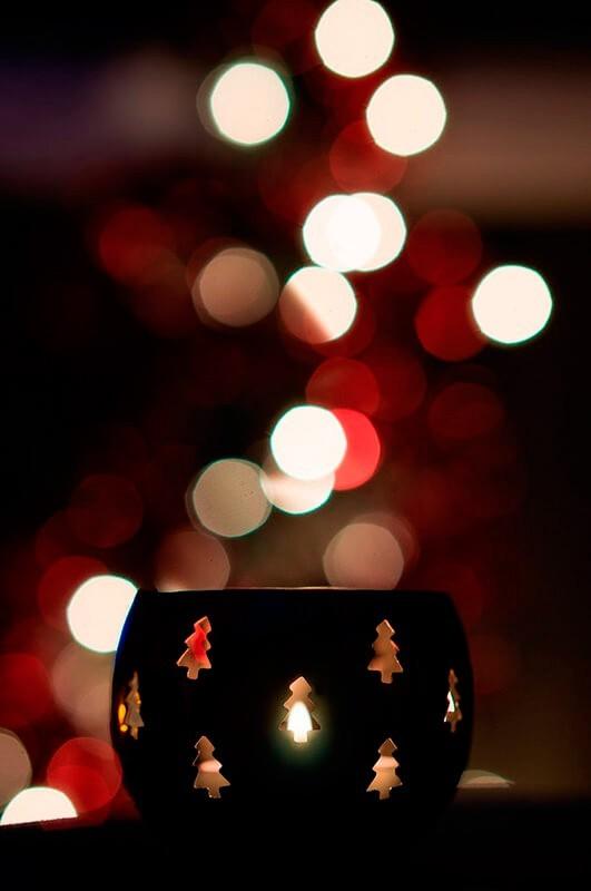 Cómo hacer un bokeh navideño. Foto: Giuseppe Milo