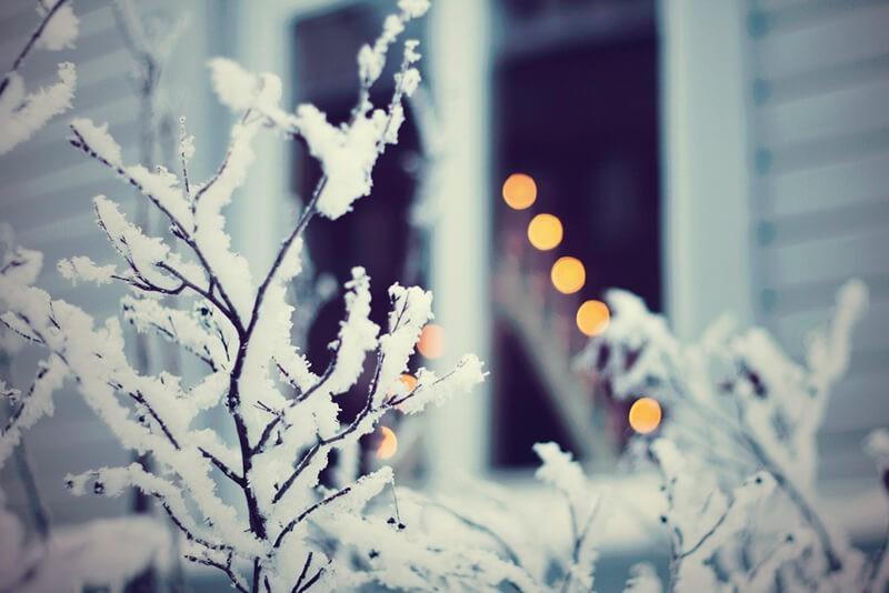 Cómo hacer un bokeh navideño. Foto: Johanna Lundin