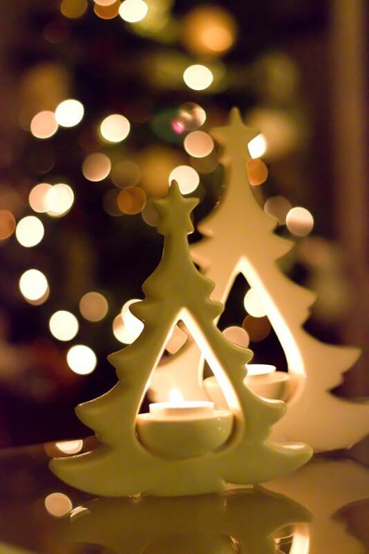Cómo hacer un bokeh navideño. Foto: Jorge Dalmau