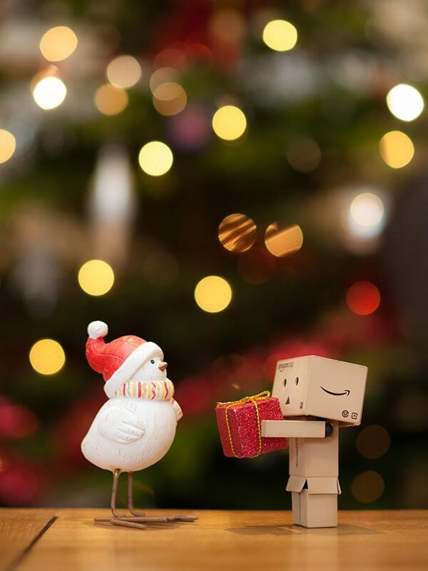 Cómo hacer un bokeh navideño. Foto: William Warby