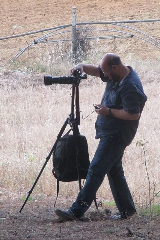 Disparo con trípode