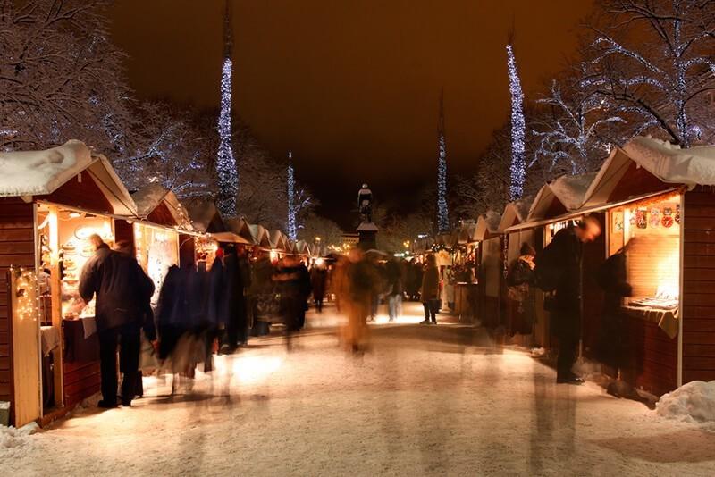 Cómo fotografiar las luces de Navidad en la calle