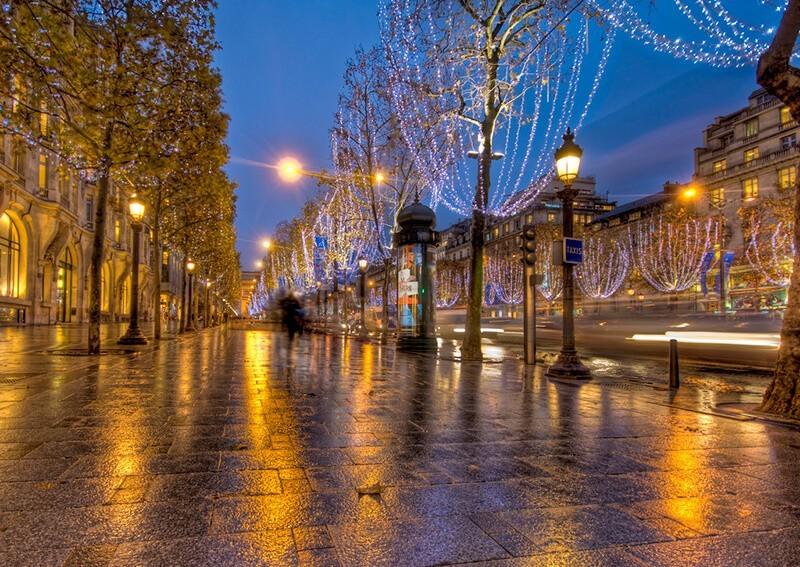 Comment photographier les illuminations de Noël dans la rue