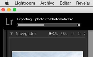 Se exportan las imágenes conservando los RAW