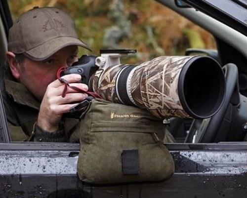 Soporte de estabilización para fotógrafos de naturaleza