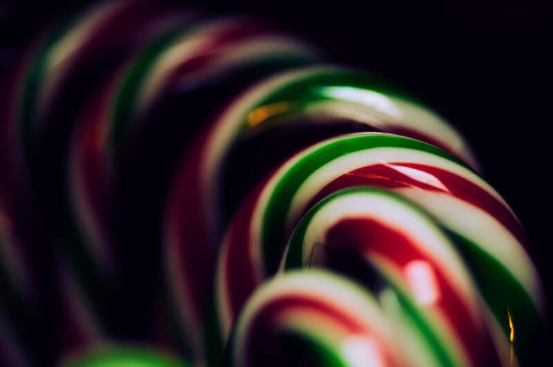 Bastones de Navidad - Canned Muffins