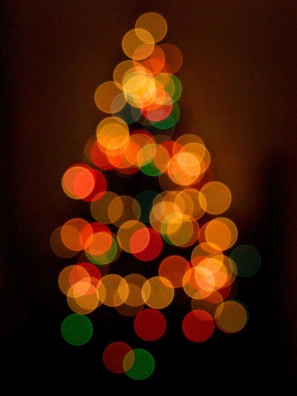 Utiliza el bokeh para tu árbol de Navidad - Dannynorodo