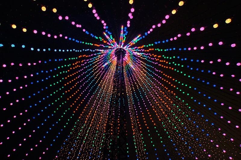 Otra perspectiva de las luces de Navidad - Lucid Dreamer