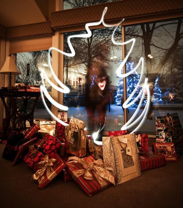 Árbol de Navidad con lightpainting - Peter Anderson