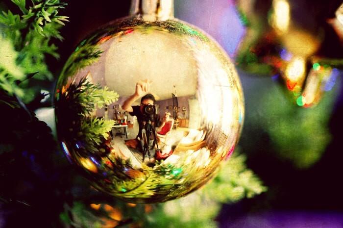 Mi reflejo navideño - Sherman Geronimo Tan