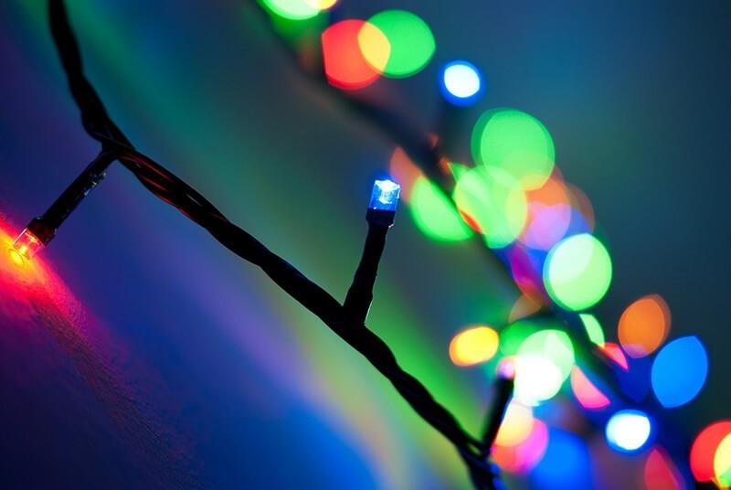 Luces de Navidad desde todos los puntos de vista - Taryn