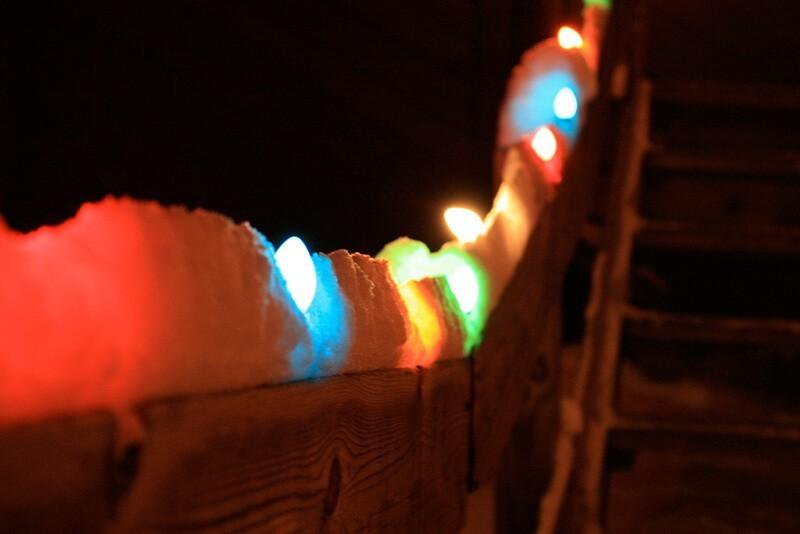 La nieve es símbolo de Navidad en el hemisferio norte - Zoe Rudisill