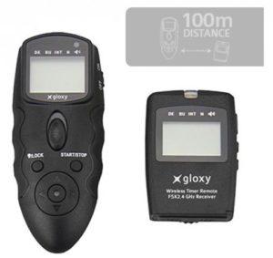 Mando intervalómetro inalámbrico Gloxy WTR