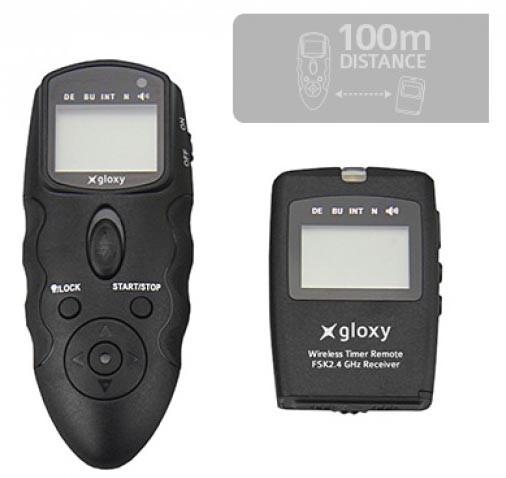 Télécommande intervallomètre sans fil Gloxy WTR
