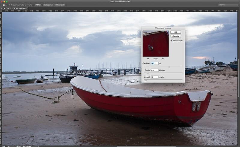5 técnicas de enfoque con Photoshop para resaltar tus fotos: máscara de enfoque