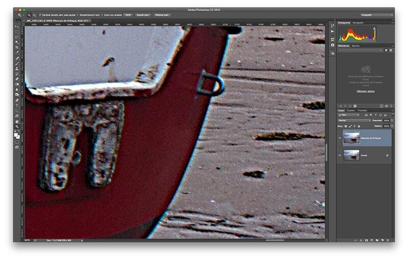 5 técnicas de enfoque con Photoshop para resaltar tus fotos: enfoque exagerado normal