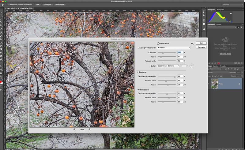 5 técnicas de enfoque con Photoshop para resaltar tus fotos: enfoque suavizado